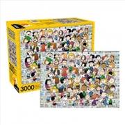 Peanuts Cast - 3000 Piece Puzzle | Merchandise