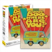 Where Are You - Scooby Doo 500 Piece Puzzle | Merchandise