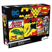 Dc Comics - 3 X 500 Piece Puzzle Set | Merchandise
