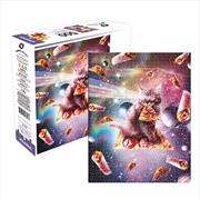 Cat Pizza 500 Piece Puzzle | Merchandise