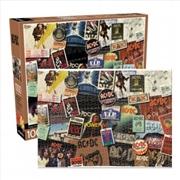 AC/DC Albums 1000 Piece Puzzle | Merchandise