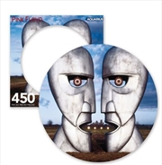 Division Bell Pink Floyd 450 Piece Picture Disc Puzzle | Merchandise