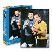 Spock And Kirk - Star Trek 500 Piece Puzzle | Merchandise