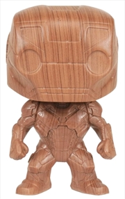 Iron Man - Iron Man Wood Deco US Exclusive Pop! Vinyl [RS] | Pop Vinyl
