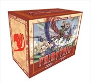 Fairy Tail Manga Box Set 1 | Paperback Book