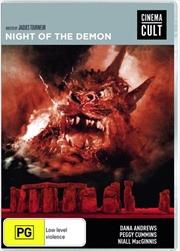 Night Of The Demon | DVD