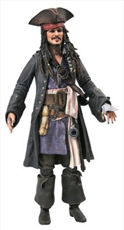 Pirates of the Caribbean - Jack Sparrow Deluxe Action Figure | Merchandise