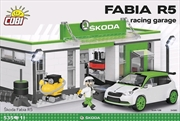 Skoda - Skoda Fabia R5 Racing Garage 525 piece Construction Set | Miscellaneous
