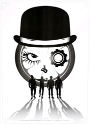 A Clockwork Orange - Silhouettes A5 Tin Sign | Merchandise