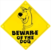 Scooby Doo - Beware of the Dog Tin Sign | Merchandise