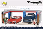 Maserati - Garage 500 piece Construction Set | Miscellaneous
