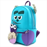 Monsters Inc - Sully Mini Backpack & Boo Coin Pouch   Apparel