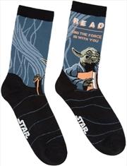 Read Yoda Socks - Large | Apparel