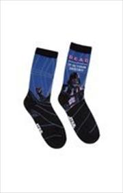 Read Darth Vader Socks - Large | Apparel