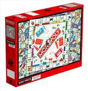 Monopoly Board 1000 Piece Puzzle | Merchandise