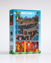 Minecraft Worldly 1000 Piece Puzzle | Merchandise