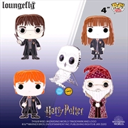 "Harry Potter - 4"" Pop! Enamel Pin Assortment 
