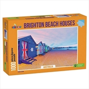Brighton Beach Boxes Australia 1000 Piece Puzzle | Merchandise