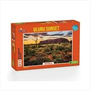 Uluru Sunset Ayers Rock Australia - 1000 Piece Puzzle | Merchandise