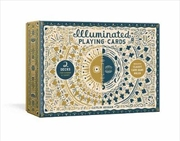 Illuminated Playing Card Set : Two Decks with Game Rules   Merchandise