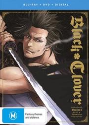 Black Clover - Season 1 - Part 4   Blu-ray + DVD   Blu-ray/DVD