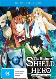 Rising Of The Shield Hero - Season 1 - Part 1 | Blu-ray + DVD, The | Blu-ray