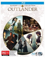 Outlander - Season 1-5 | Boxset | Blu-ray