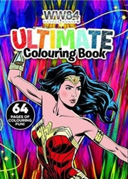 Wonder Woman 1984: Ultimate Colouring Book (dc Comics) | Paperback Book