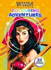 Wonder Woman 1984: Colouring Adventures (dc Comics) | Paperback Book