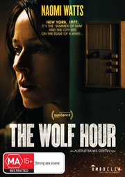 Wolf Hour, The   DVD