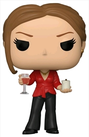 The Office - Jan with Wine & Candle Pop! Vinyl | Pop Vinyl