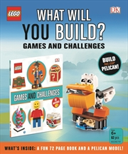 LEGO® What Will You Build?: Games & Challenges | Paperback Book