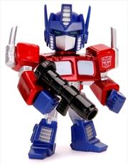 "Transformers - Optimus Prime Cartoon 4"" Metals | Merchandise"