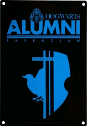 Harry Potter - Alumni Ravenclaw A5 Tin Sign | Merchandise