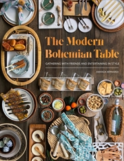 The Modern Bohemian Table | Hardback Book