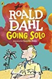 Going Solo   Paperback Book