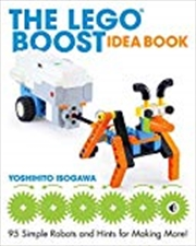 The LEGO BOOST Idea Book | Paperback Book