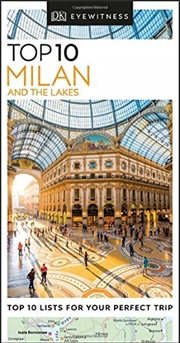 Top 10 Milan and the Lakes: Eyewitness Travel Guide | Paperback Book