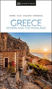 Greece, Athens and Mainland: Eyewitness Travel Guide   Paperback Book