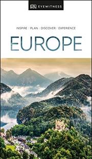 Europe: Eyewitness Travel Guide | Paperback Book