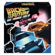 Back To The Future Dice Through Time   Merchandise