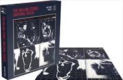Emotional Rescue Rolling Stones 500 Piece Puzzle | Merchandise