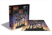 Kiss Destroyer 500 Piece Puzzle | Merchandise