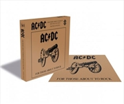 AC/DC – For Those About To Rock 500 Piece Puzzle | Merchandise