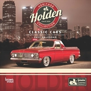 Classic Holden Cars 2021 Square Calendar | Merchandise