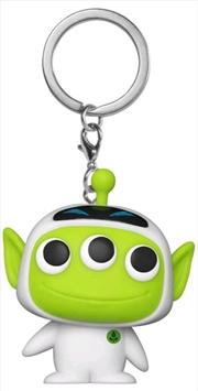 Pixar - Alien Remix Eve Pocket Pop! Keychain | Pop Vinyl