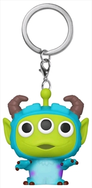 Pixar - Alien Remix Sulley Pocket Pop! Keychain | Pop Vinyl