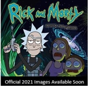 Rick And Morty 2021 Square Calendar | Merchandise