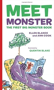 Meet Monster: The First Big Monster Book | Hardback Book