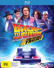 Back To The Future / Back To The Future 2 / Back To The Future 3 | Remastered Trilogy | Blu-ray